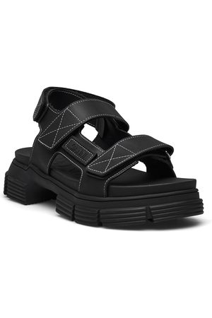 Ganni Recycled Rubber Shoes Summer Shoes Flat Sandals