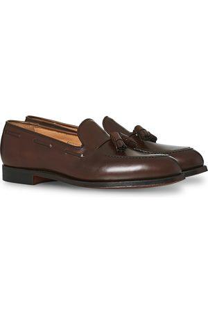 Crockett & Jones Herre Loafers - Cavendish Tassel Loafer Dark Brown Calf
