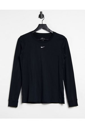 Nike MOVE TO ZERO essential long sleeve t-shirt in black
