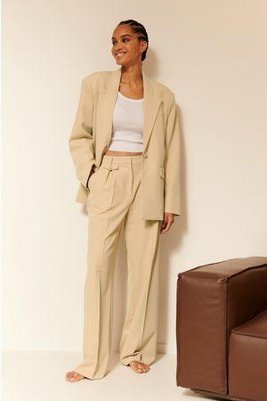 NA-KD Dame Chinos - Dressbukser Med Lommer