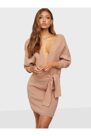 Femme Luxe Dame Kjoler - Ribbed Dress