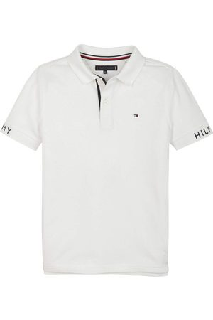 Tommy Hilfiger Sleeve Text Polo T-skjorte
