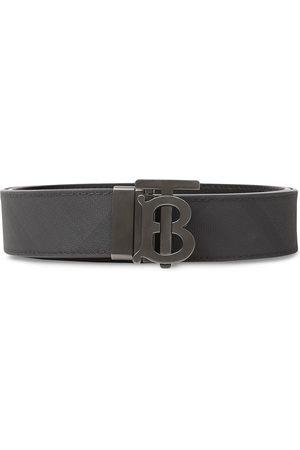 Burberry Herre Belter - Monogram motif London check belt