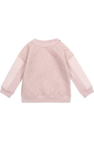 Burberry Jente Sweatshirts - Monogram quilted sweatshirt