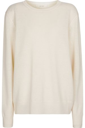 The Row Linen and cashmere sweater