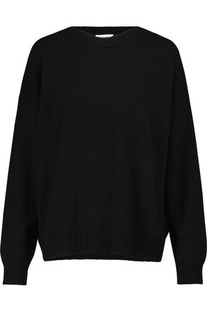The Row Dame Strikkegensere - Ciranne wool and cashmere sweater