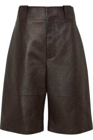Bottega Veneta Leather culottes
