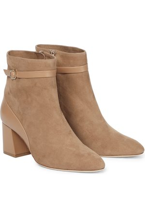 MALONE SOULIERS Kloe 65 suede ankle boots