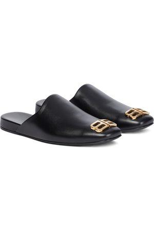 Balenciaga Cosy BB leather slippers