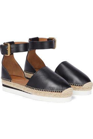 Chloé Glyn leather espadrilles