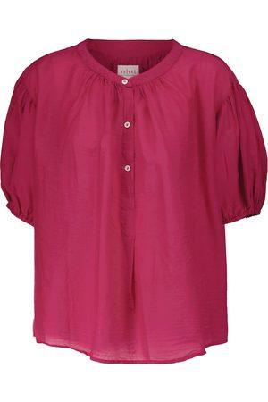 Velvet Chelsea cotton and silk top