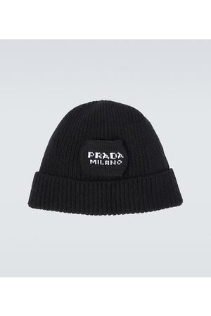 Prada Wool and cashmere-blend beanie