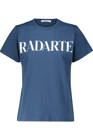 RODARTE Logo cotton T-shirt
