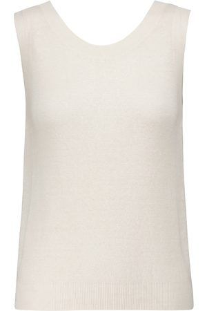 The Row Dame Strikkegensere - Cervia linen and cashmere sweater