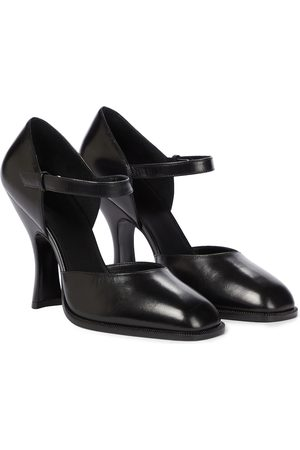 The Row Mary Jane leather pumps