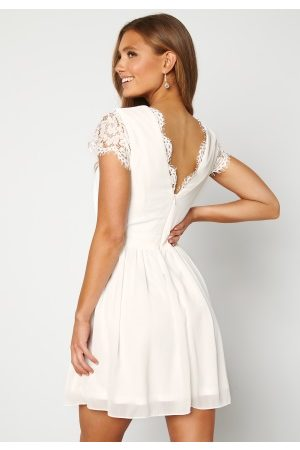 Moments New York Camellia Lace Dress White 34