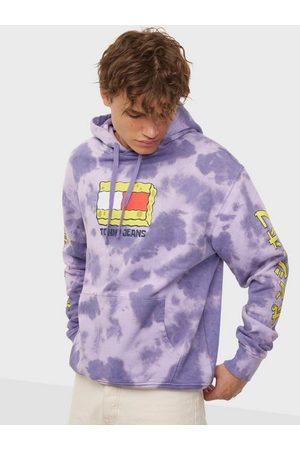 Tommy Jeans Herre Hettegensere - Abo Tju X Spongebob Hoodie Gensere Purple