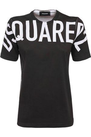 Dsquared2 D2 Bold Logo Cotton Jersey T-shirt