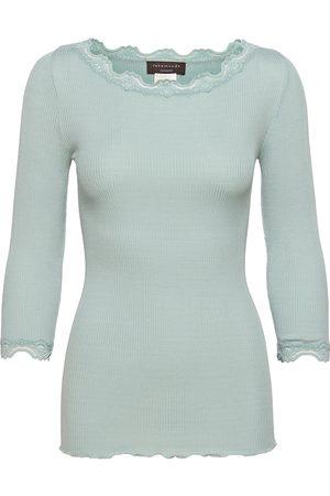 Rosemunde Silk T-Shirt Boat Neck Regular W/Vi T-shirts & Tops Long-sleeved Rosa