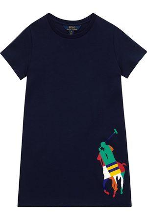 Ralph Lauren Logo cotton-blend T-shirt dress