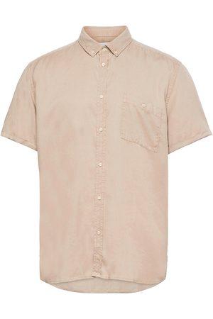 Les Deux Leonardo Tencel Twill Ss Shirt Kortermet Skjorte
