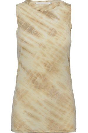 Rabens Saloner Maiken T-shirts & Tops Sleeveless Beige Rabens Sal R