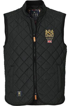 Morris Trenton Quilted Vest Black