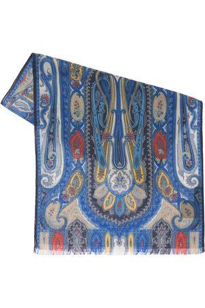 Etro Calcutta Wool & Silk Scarf
