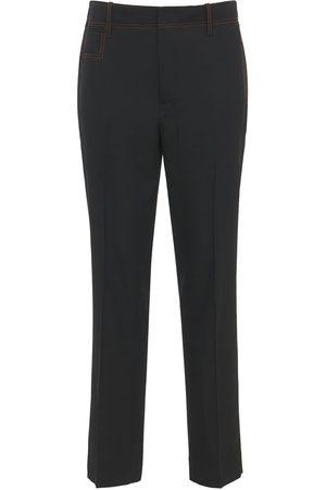 J.W.Anderson Herre Chinos - Slim Wool Gabardine Pants