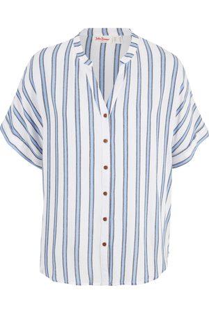 bonprix Stripet, kortermet bluse