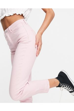 New Look Dame Mom - Mom jeans in pastel pink