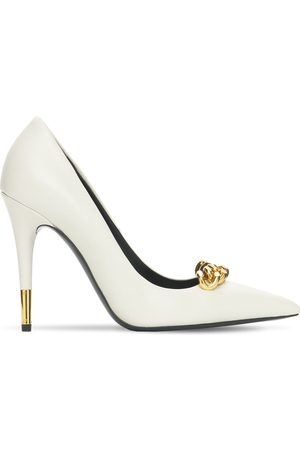 Tom Ford 105mm Iconic Chain Leather Pumps
