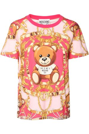 Moschino Teddy Print Cotton Jersey T-shirt