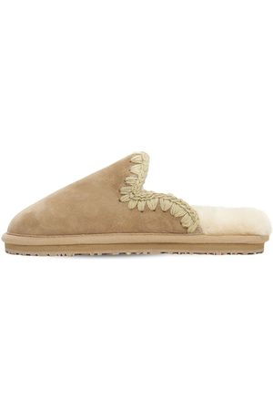 Mou 10mm Eskimo Suede Slippers