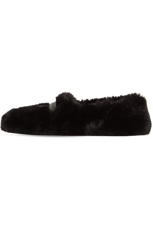 GIANVITO ROSSI Dame Loafers - 10mm Faux Shearling Loafers