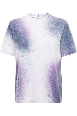 MCQ Breathe Tie Dye Cotton T-shirt