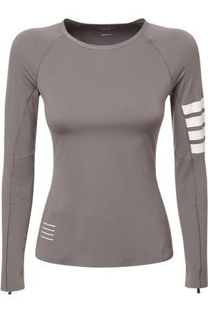 THOM BROWNE Stretch Jersey T-shirt