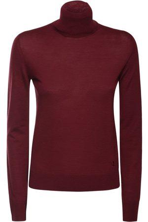 JIL SANDER Wool Knit Turtleneck Sweater