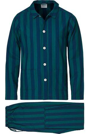 Nufferton Uno Striped Pyjama Set Blue/Green