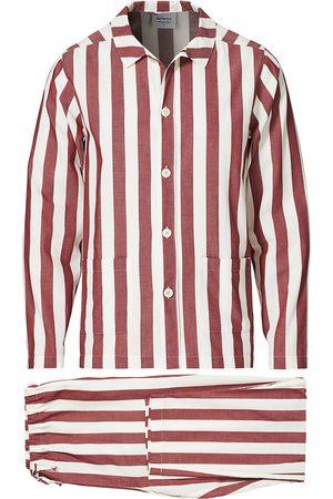 Nufferton Uno Striped Pyjama Set Red/White