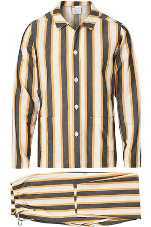 Nufferton Uno Triple Striped Pyjama Set Yellow/Blue