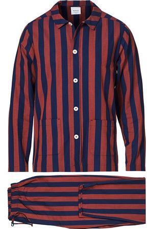 Nufferton Uno Striped Pyjama Set Blue/Red