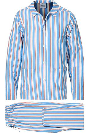 Nufferton Uno Mini Striped Pyjama Set Navy/White