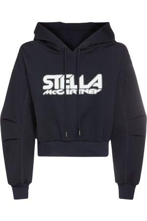 STELLA MCCARTNEY Logo Print Jerseysweatshirt Hoodie