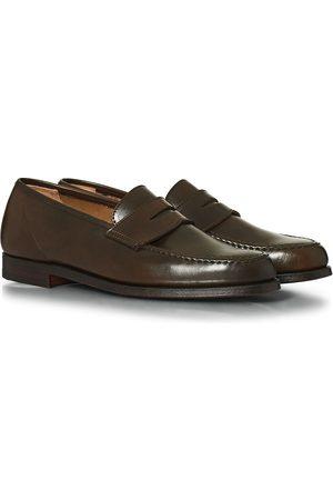 Crockett & Jones Herre Loafers - Harvard Unlined Loafer Dark Brown Cordovan