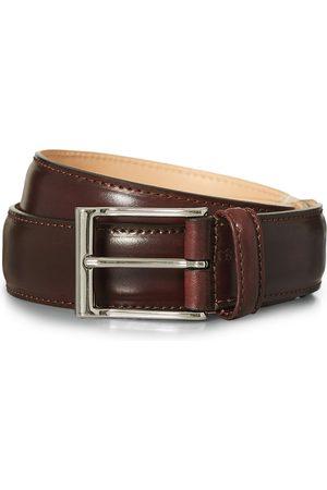 Crockett & Jones Herre Belter - Belt 3.2 cm Burgundy Cordovan