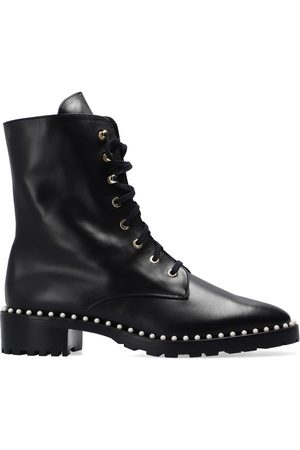 Stuart Weitzman Allie leather ankle boots