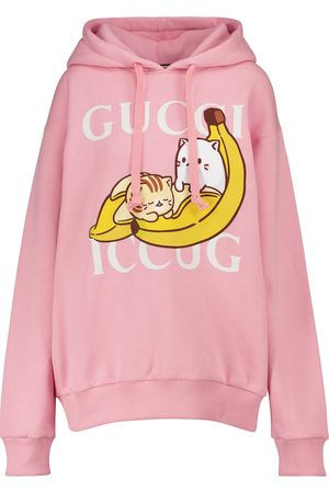 Gucci X Bananya cotton hoodie