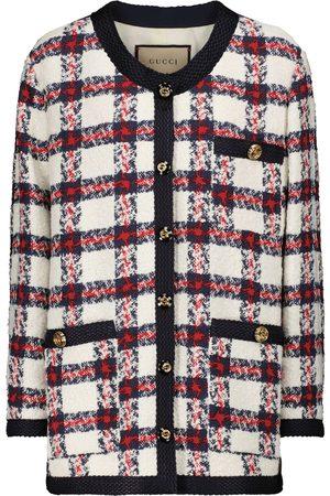 Gucci Checked tweed jacket
