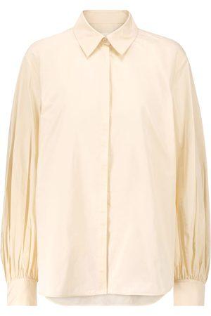 Jil Sander Oversized taffeta shirt